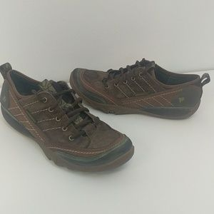 Merrell Mimosa Cocoa Suede Athletic Oxford Shoes